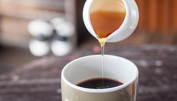 coffee and honey